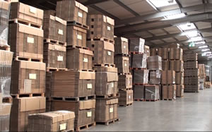Over 1 million boxes in stock