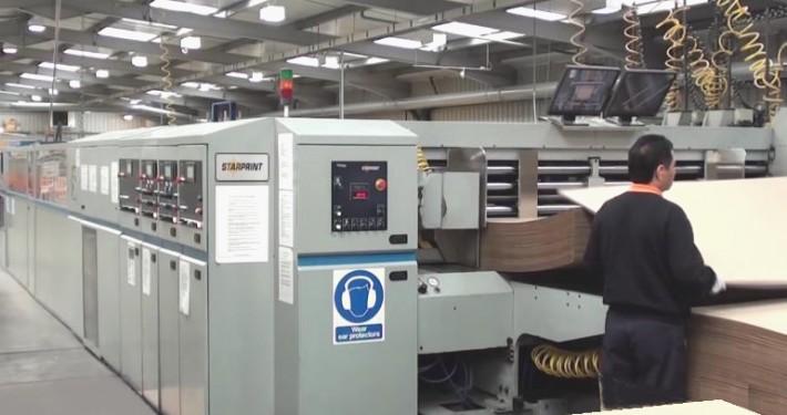 Cardboard Box Production line 2