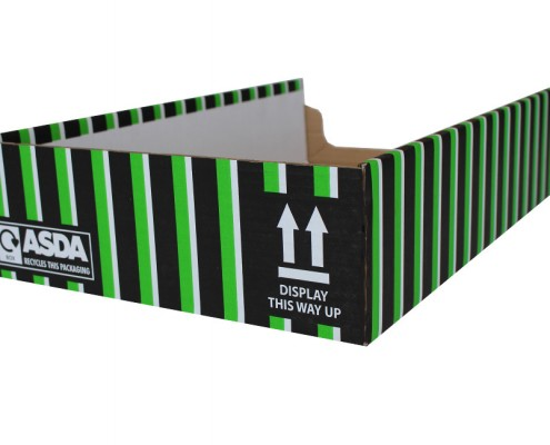 Asda shelf ready box