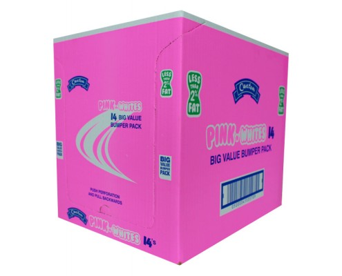 Pink shelf ready box