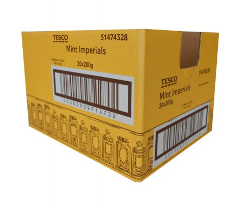Tesco shelf ready box