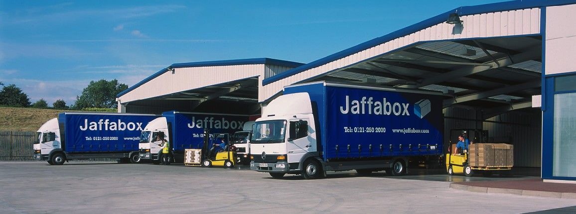 Jaffabox cardboard box manufacturers building front